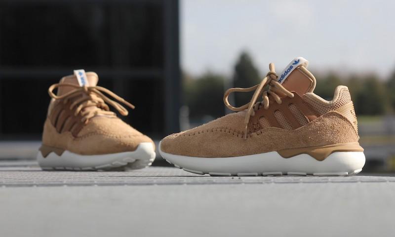 adidas Tubular Moc Runner Shoes in Cardboard Timber_2