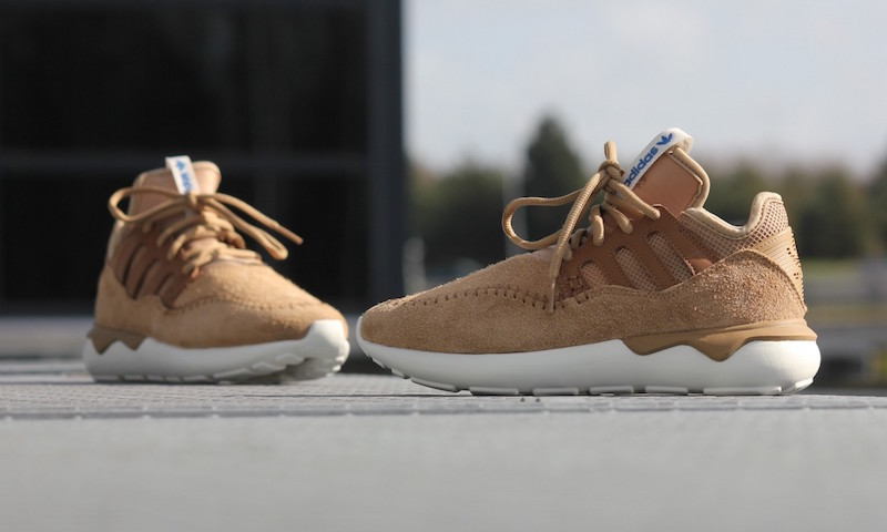 adidas Tubular Moc Runner Shoes in Cardboard Timber_2