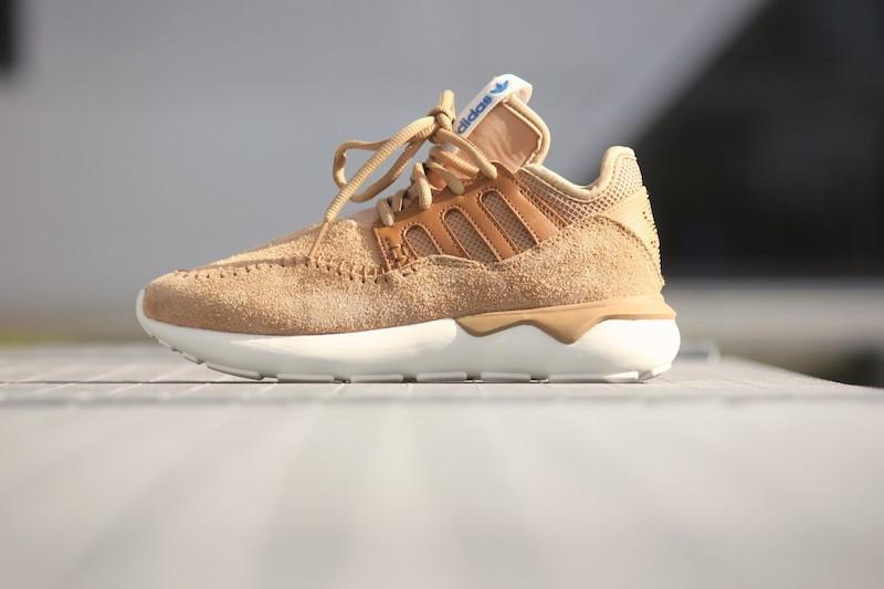 adidas Tubular Moc Runner Shoes in Cardboard Timber_3