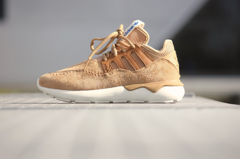 adidas Tubular Moc Runner Shoes in Cardboard Timber_3