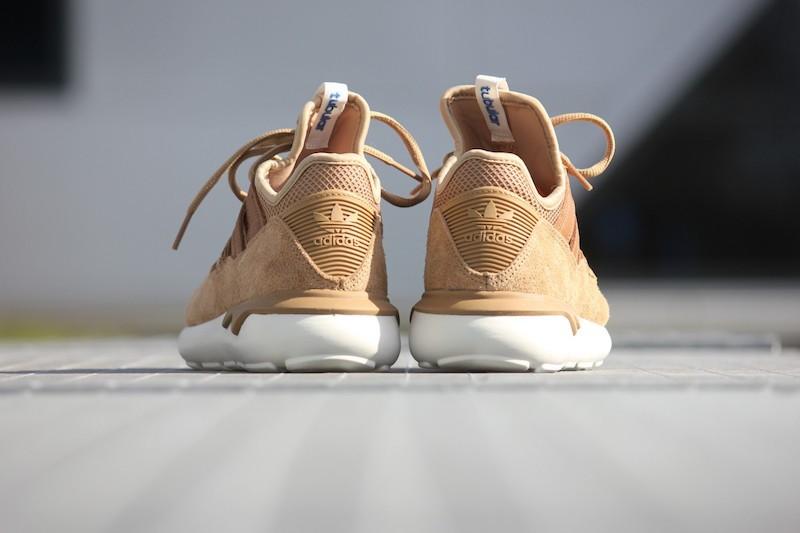 adidas Tubular Moc Runner Shoes in Cardboard Timber_4