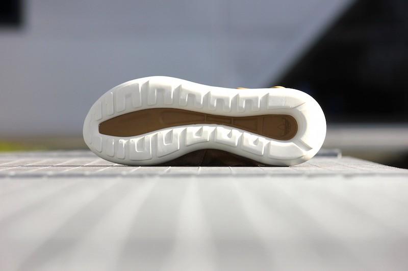 adidas Tubular Moc Runner Shoes in Cardboard Timber_5
