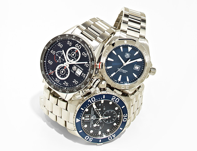 Almost Gone Watches feat. Tag Heuer at MYHABIT