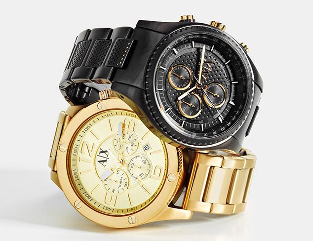 Armani Exchange Watches at MYHABIT