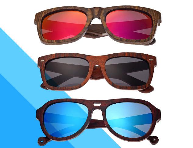 Earth Wood Sunglasses at MYHABIT