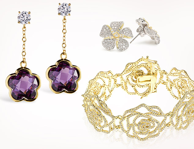 Goldtone & Floral Jewelry feat. Jardin at MYHABIT