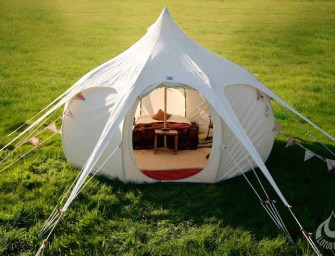 Tents for Life: Lotus Belle Luxury Camping Tents
