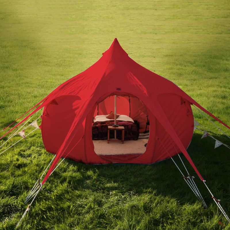 Lotus Belle 16Ft Limited Edition Red Outback Tent