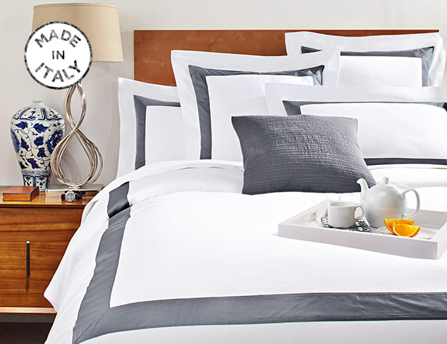 Made in Italy Bedding at MYHABIT