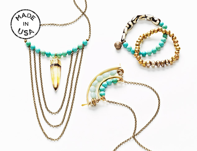 Made in USA Heather Kahn Jewelry at MYHABIT