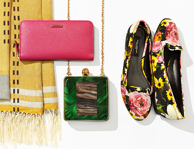 Neutral to Bold Designer Shoes & Accessories at MYHABIT
