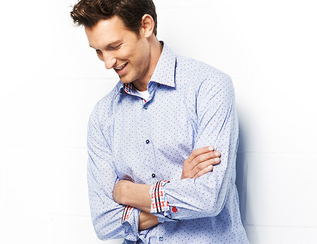 Solids, Stripes & Prints Woven Shirts at MYHABIT