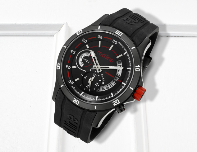Sport Watches feat. red line at MYHABIT