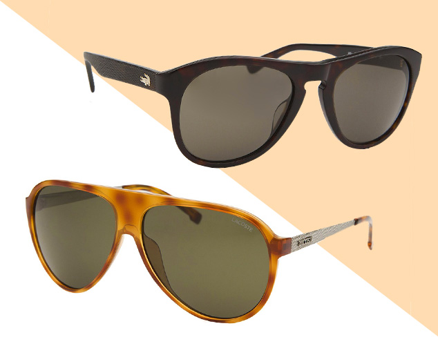 Sunglasses feat. Lacoste at MYHABIT