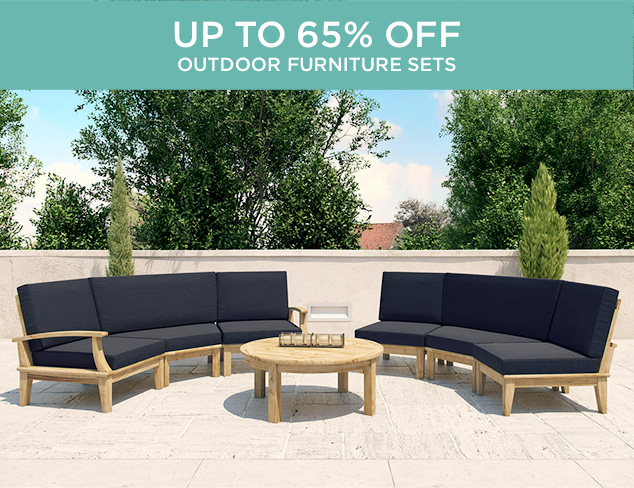 Up to 65 Off Outdoor Furniture Sets at MYHABIT