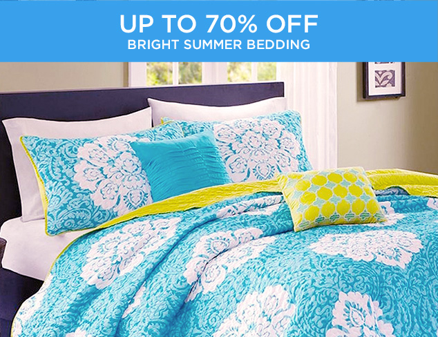 Up to 70 Off Bright Summer Bedding at MYHABIT
