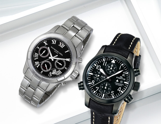 Watches feat. Raymond Weil at MYHABIT