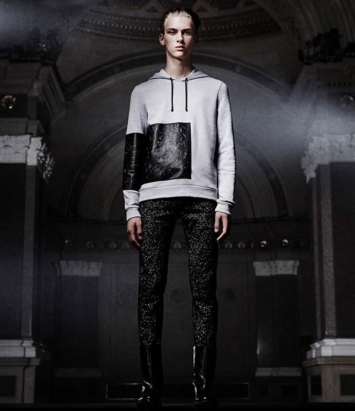 Balenciaga Tech-Coated Hoodie
