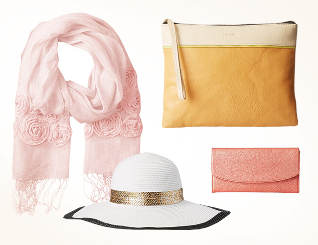From Blush to Beige Neutral Accessories at MYHABIT