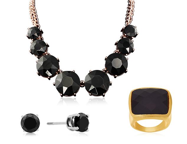 Jet Black Jewelry at MYHABIT