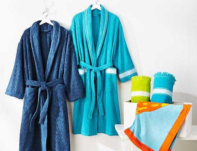 Lavish Bath Accessories feat. Hermès at MYHABIT