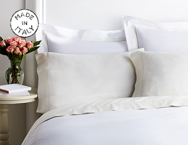 Made In Italy Luxe Bedding at MYHABIT