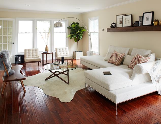 Modern Family, Modern Home The Living Room at MYHABIT