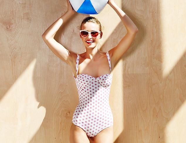 Tori Praver California One-Piece Swimsuit