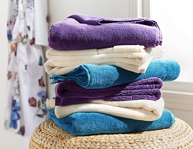 The Essentials Bath Towels at MYHABIT