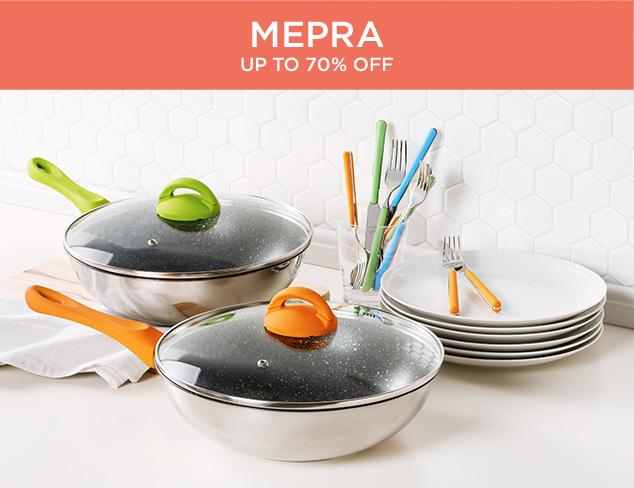 Up to 70 Off Mepra at MYHABIT