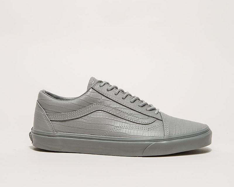 Vans Classic Leather Old Skool Reissue CA