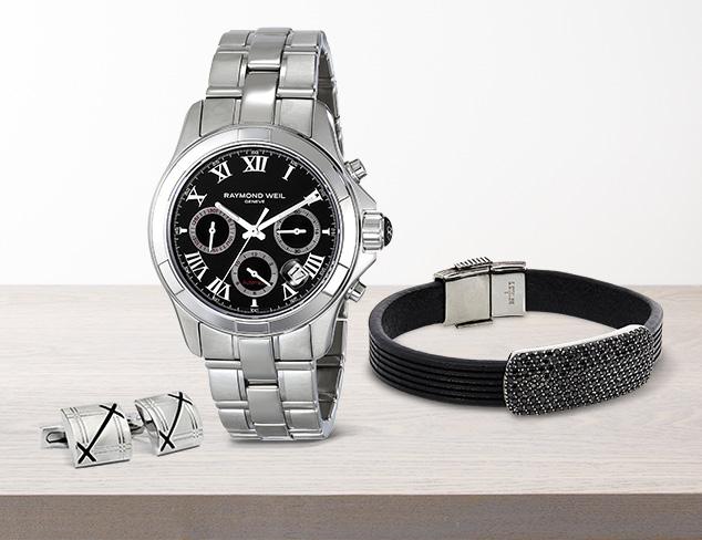 Wrist Attention Cufflinks, Bracelets & Watches at MYHABIT