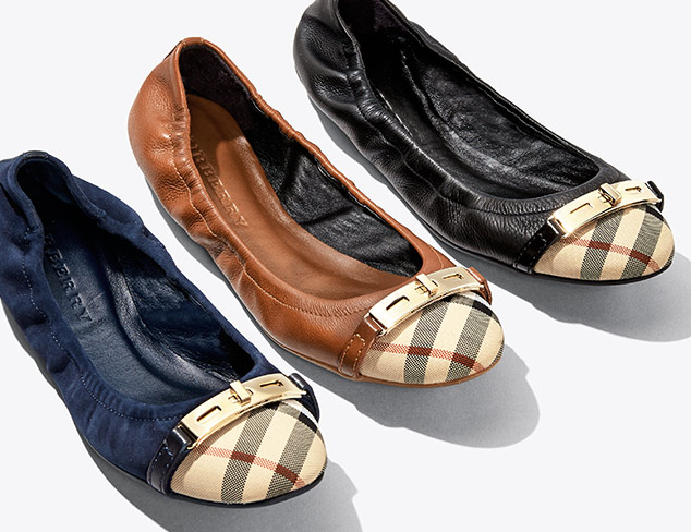 Burberry Footwear & Accessories at MYHABIT