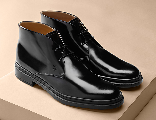 Designer Shoes feat. Tod's at MYHABIT