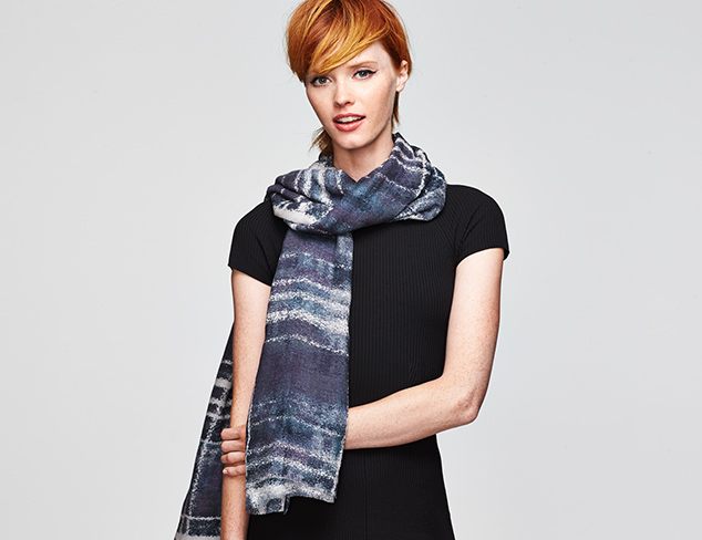 Expertly Accessorized Digital Print Scarves at MYHABIT