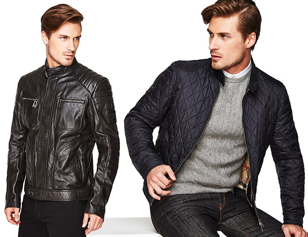 Fall in the City Outerwear feat. Belstaff at MYHABIT