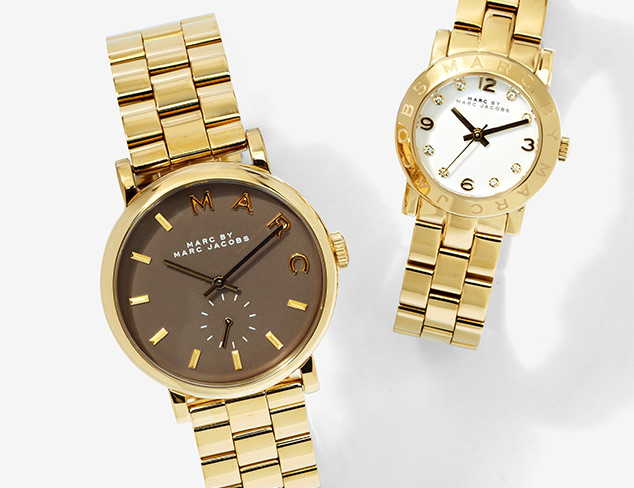 Gleaming in Gold Jewelry & Watches at MYHABIT