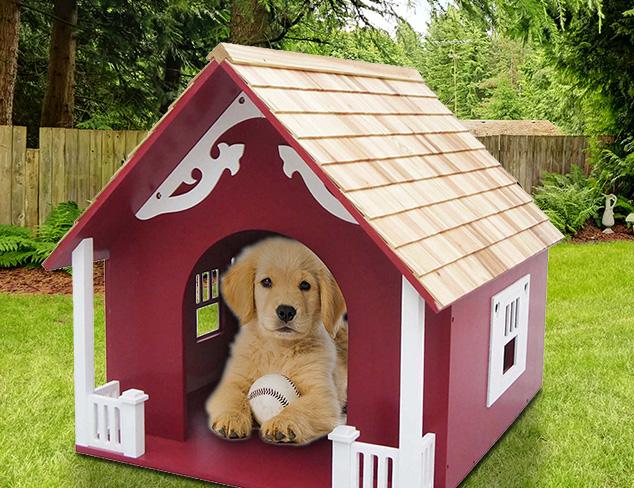 Puppy Perks Dog Houses $189 & Under at MYHABIT