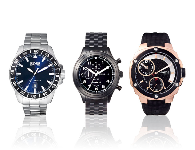 The Classic Look Watches at MYHABIT