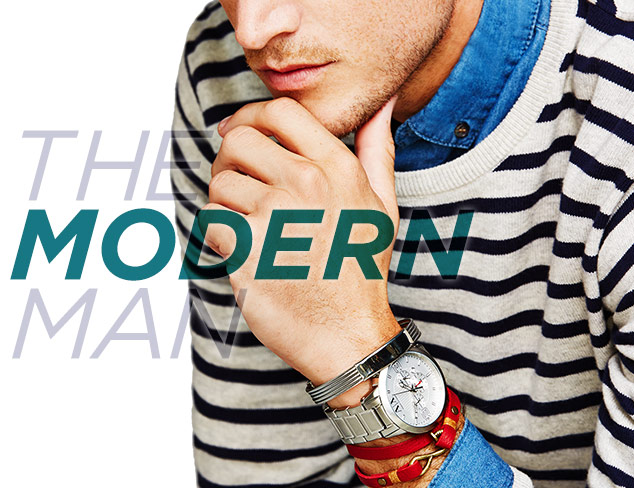 The Modern Man Finishing Touches at MYHABIT