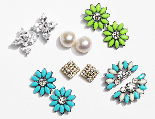 Tiny Treasures Stud Earrings at MYHABIT