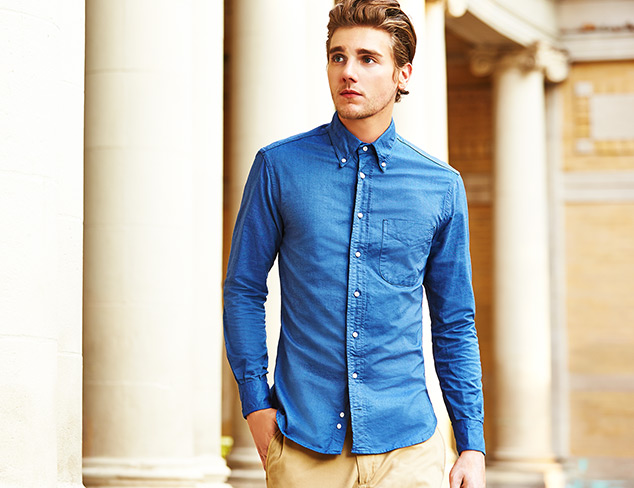 A Fall Essential Button-Up Shirts at MYHABIT