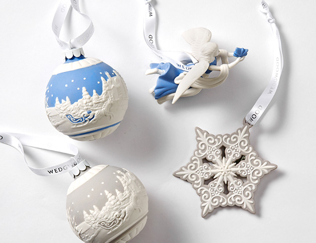 Christmas Ornaments by Wedgwood & More at MYHABIT