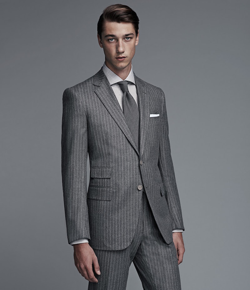 Cifonelli Striped Marbeuf Two-Button Suit