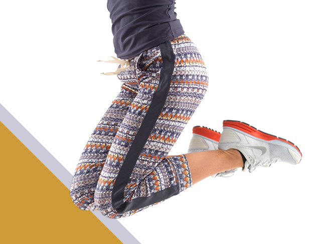 Colorful & Printed Active Pants & More at MYHABIT