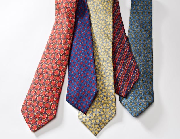 Designer Ties feat. Hermés at MYHABIT
