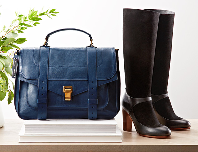Fall Luxe Designer Boots & Bags at MYHABIT