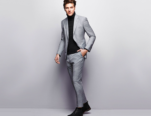 Look Sharp Suiting feat. Hardy Amies at MYHABIT