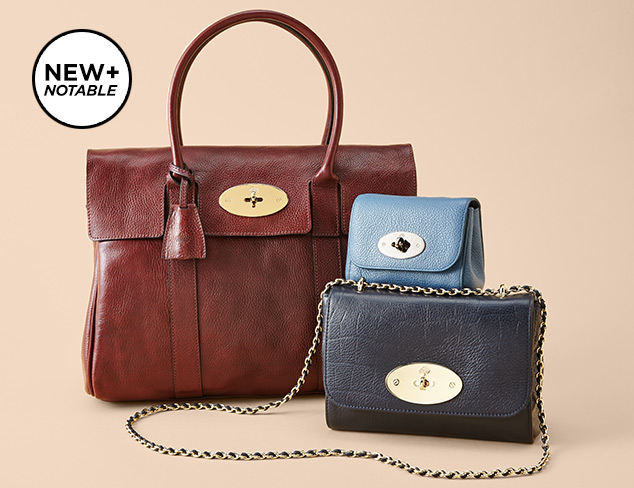 New & Notable Mulberry Handbags at MYHABIT