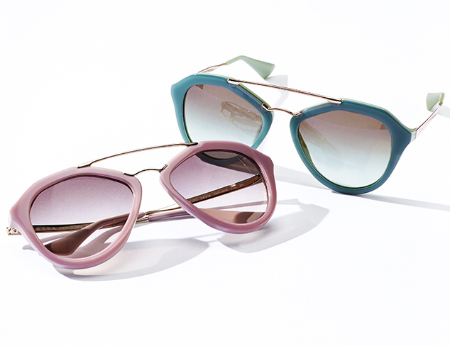 Prada & Gucci Sunglasses at MYHABIT